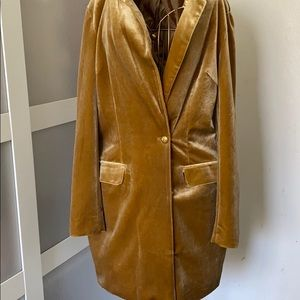 Missguided Knee Length Trench Coat